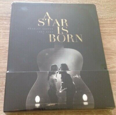 A Star Is Born 2018 Blu-Ray FilmArena Steelbook New & Sealed