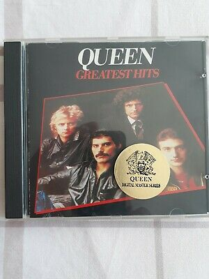 queen cd greatest hits digital master serie parlophone stereo made in italy 1994