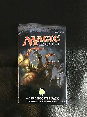 MTG MAGIC 2014 Media Promo Pack Sealed 6 Cards Scavenging