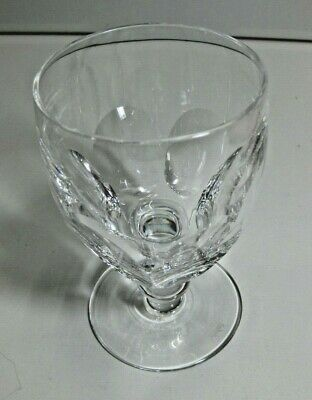 VINTAGE SIGNED Waterford Crystal KATHLEEN Water Goblet Glass GREAT CONDITION!