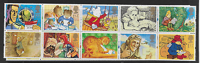 Gb Qeii - Greetings Stamps 'Messages' (Kx6) - Sg 1800 /1809 - Mnh