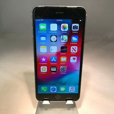 Apple iPhone 6S Plus 64GB Space Gray Sprint - Fair Condition - Fully Functional