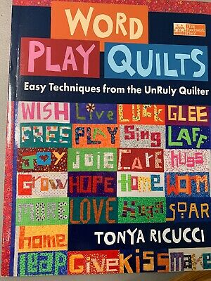 Word Play Quilts , Quilt Book.  NEW NEVER USED