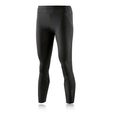 Skins Womens DNAmic Ultimate 7/8 Tights Bottoms Pants Trousers Black Sports Gym