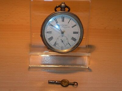 Antique Edwardian Open Face 'Acme' Lever Silver Pocket Watch London 1911