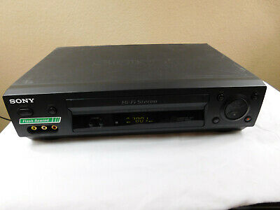 Sony SLV-N500 4-Head Hi-Fi Stereo VHS VCR Video Cassette Recorder Player TESTED