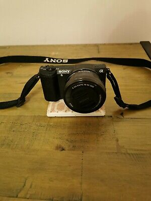 Sony Alpha a5100 Mirrorless Digital Camera with 16-50mm Lens - Black
