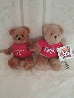 WALKERS COLLECTABLE TEDDY BEAR and Typhoo Bear