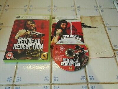 Red Dead Redemption For Microsoft Xbox 360 Complete Inc Map