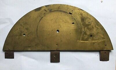 Antique Brass Longcase Dial Arch For Fitting To Square Dial C1720