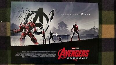Marvel Studios Avengers Endgame Opening Weekend Imax Mini Poster Week 1