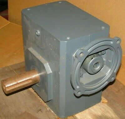 New Sterling Electric Worm Gear Speed Reducer #232BQ040142 - 40:1 140TC