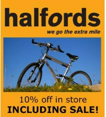 Halfords, Cycle Republic. Voucher,  Discount Code - 10% OFF Instore