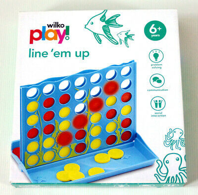 LINE THEM UP GAME by WILKO PLAY