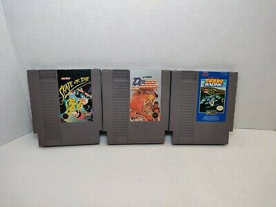 Nintendo NES Games Lot Of 3 All Cleaned And Tested Free Shipping