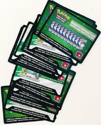 XY Evolutions Lot of 36 Unused Booster Pack Codes (Pokemon TCGO) New Black 1TW
