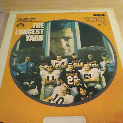 The Longest Yard Burt Reynolds RCA Selectavision VideoDiscs CED Disc