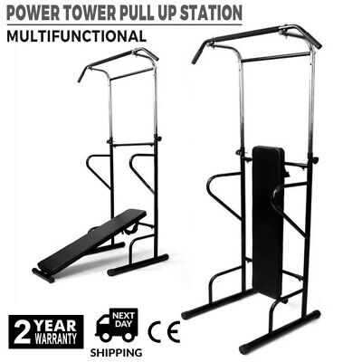 GOLDS GYM STATION Pull Up Push UP Chin Up Bar Exercise Dip