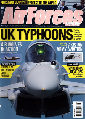 AIRFORCES MONTHLY Magazine. June 2014 - UK TYPHOONS,PIRATE HUNTING ORIONS