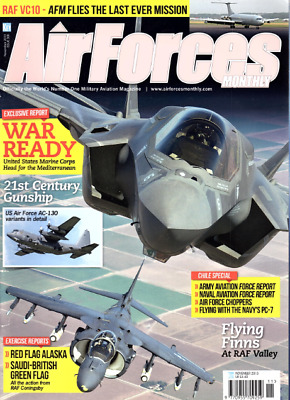 AIRFORCES MONTHLY Magazine. Nov 2013 - USAF AC-130,VC10 LAST MISSION