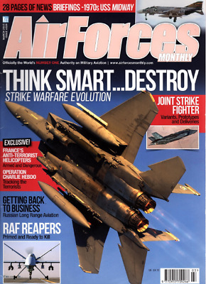AIRFORCES MONTHLY Magazine. Mar 2015 - JOINT STRIKE FIGHTER,1970s USS MIDWAY