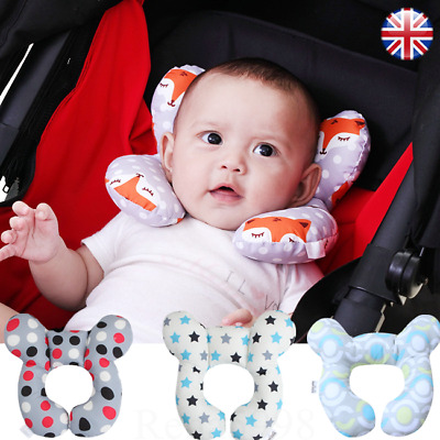 Baby U-Shaped Pillow Travel Car Seat Pillow Stroller Cushion Head Neck Support H