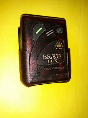 ALL FEATURES WORK!! MOTOROLA BRAVO LX  RETRO PROP PAGER