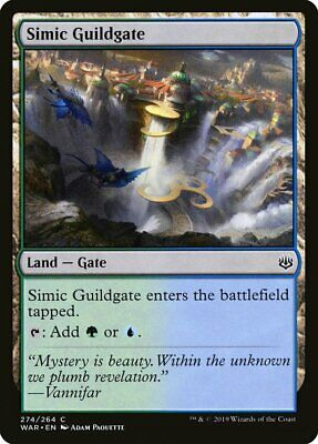 FOIL Cancello della Gilda Simic Simic Guildgate MTG MAGIC GtC Gatecrash Ita