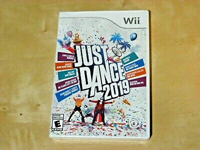 JUST DANCE 2019 (Nintendo Wii *NEW)