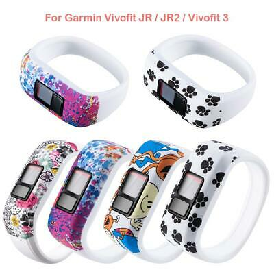 Soft Silicone Printed Wrist Band Strap for Garmin Vivofit JR/JR2/Vivofit 3 S/L