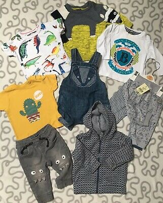 Baby Boys 3-6 Months Clothes Bundle Next Ted Baker