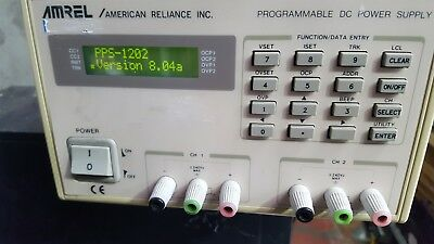 Amrel Pps-1202 Ver 8.04A Programmable Dc Power Supply (Rbd7.3)