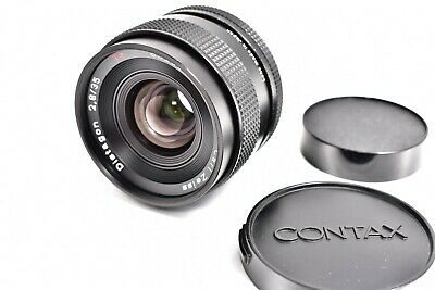 #1129【Excellent+++++】Contax Carl Zeiss Distagon 35mm F2.8 AEJ Lens From Japan
