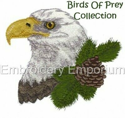 Birds Of Prey Collection - Machine Embroidery Designs On Cd Or Usb