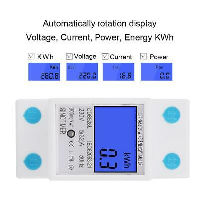 230V Power Meter Energy Monitor Consumption Watt Electricity Usage Tester