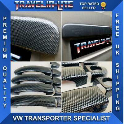 VW T5 T6 Transporter Carbon Fibre Rear Door Handle & Door Handles Covers