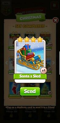 Santa's Sled Coinmaster Card - Trusted 🇬🇧 Seller - Fast Delivery