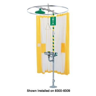 Haws 9037  Privacy curtain designed to be used on horizontal emergency drench