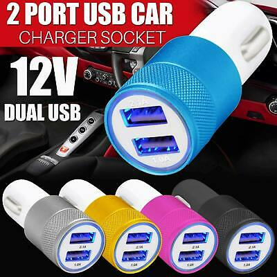 SUPER FAST Fast Charging Dual LED USB Car Charger For Universal/iphone/Samsung