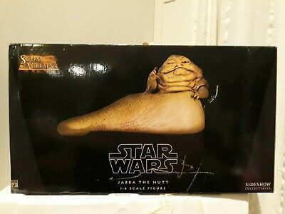 Jabba the hutt  1/6 SCALE  figure SIDESHOW collectables in box 2007 star wars