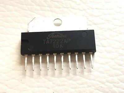 25 Pieces | TA7222AP 5.8W Audio Power Amplifier