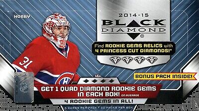 2014-15 Upper Deck Black Diamond NHL hockey cards hobby box
