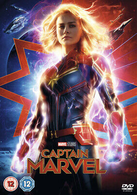 Captain Marvel DVD (2019) Brie Larson, Boden (DIR) cert 12 ***NEW*** Great Value
