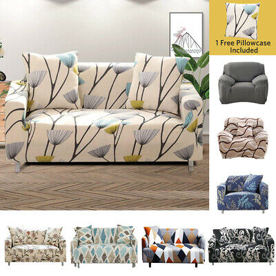 Chair Sofa Cover Stretch Couch Slipcover Pet Furniture Protector 1 2 3 4 Seater