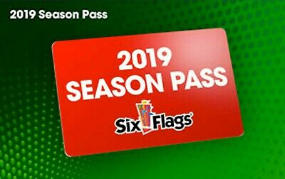 (1) One 2019 Gold Season Pass  Six Flags New England