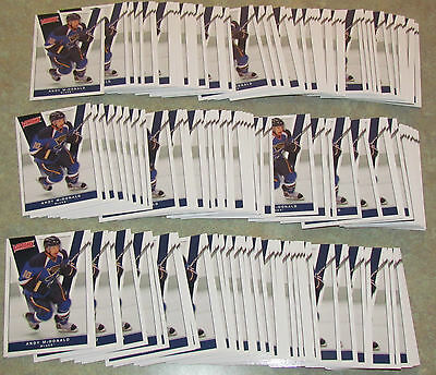 Lot of 146 ct  ANDY McDONALD Blues 2010-2011 UPPER DECK VICTORY CARD #169