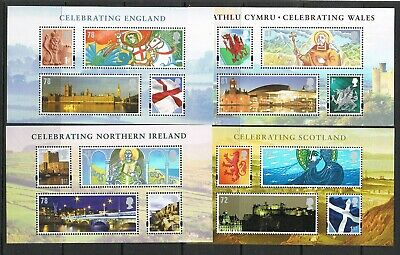GB miniature sheets selection, 60% face value, FREE UK POSTAGE (D)