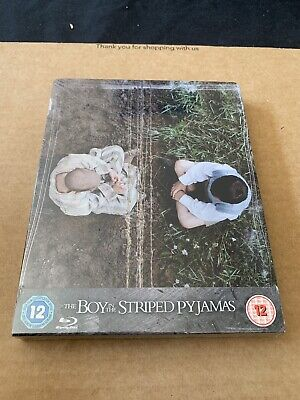 The Boy In The Striped Pyjamas Blu Ray Steelbook NEW & SEALED UK Region B
