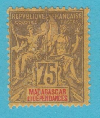 French Colonies Madagascar 45  Mint Hinged Og *  No Faults Very Fine