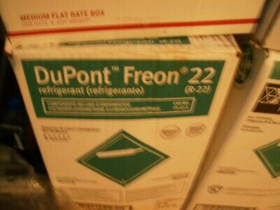 R22 USA Dupont r 22 Sealed Freon 37lb box Refrigerant air conditioner 1 day ship
